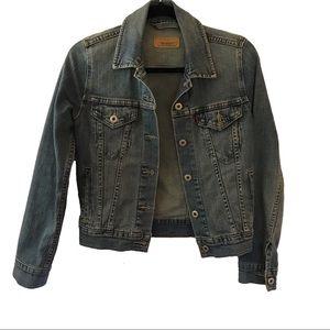 Classic Blue Levi's Denim Jean Jacket Small